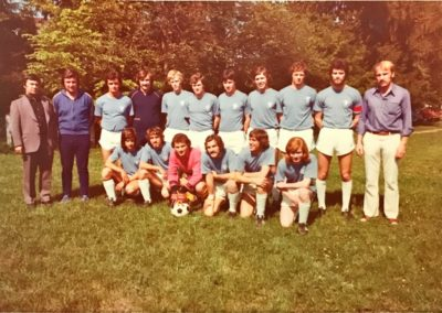 Erste Mannschaft 1974 – B-Klasse Meister