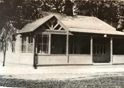 Freilufthalle TSV Brannenburg (1930 – 1959)